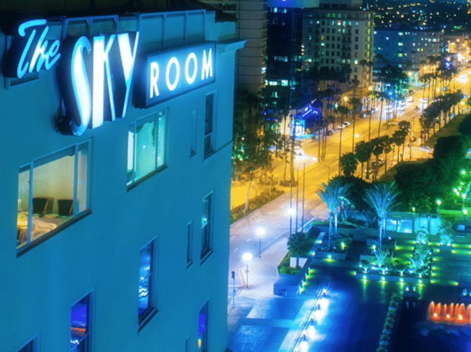 Long Beach Rooftop Restaurant Sky Room