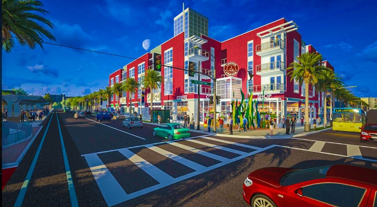 Workers break ground on 102-unit affordable housing project in ...