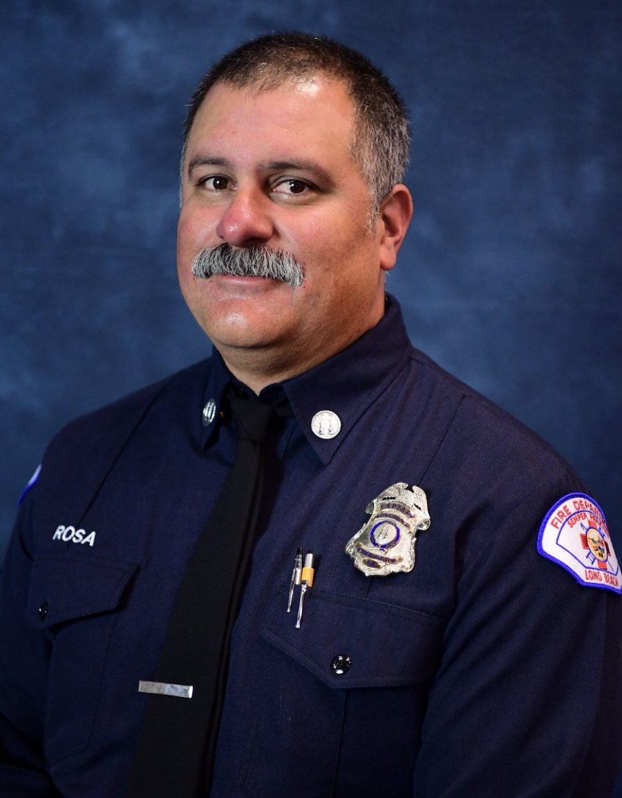 David Rosa. Photo courtesy the Long Beach Fire Department.