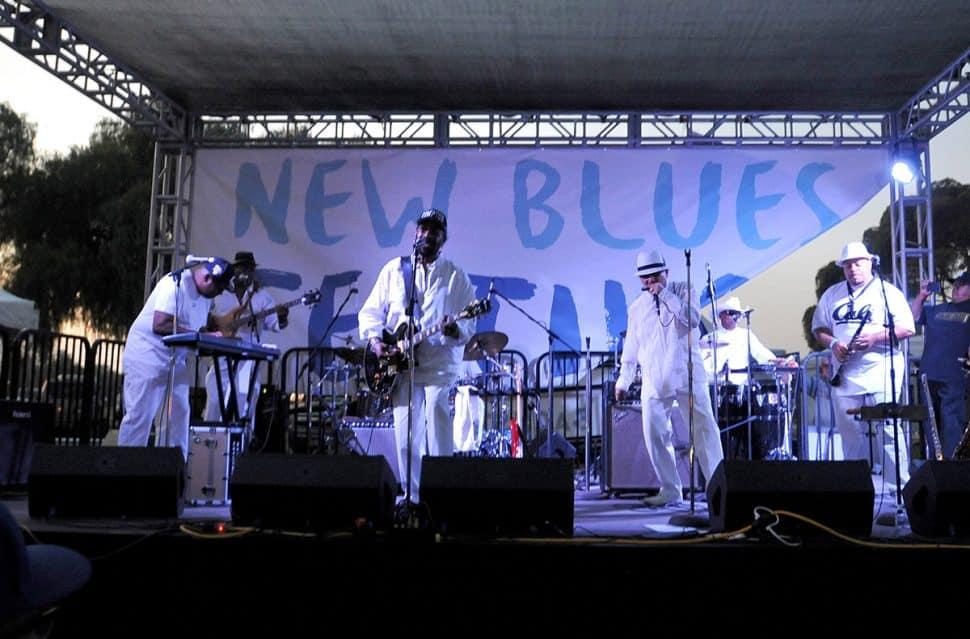 Lowrider Band performs during the New Blues Festival V at El Dorado Park in Long Beach, Calif. On September 1, 2018 (John Valenzuela / Correspondent)