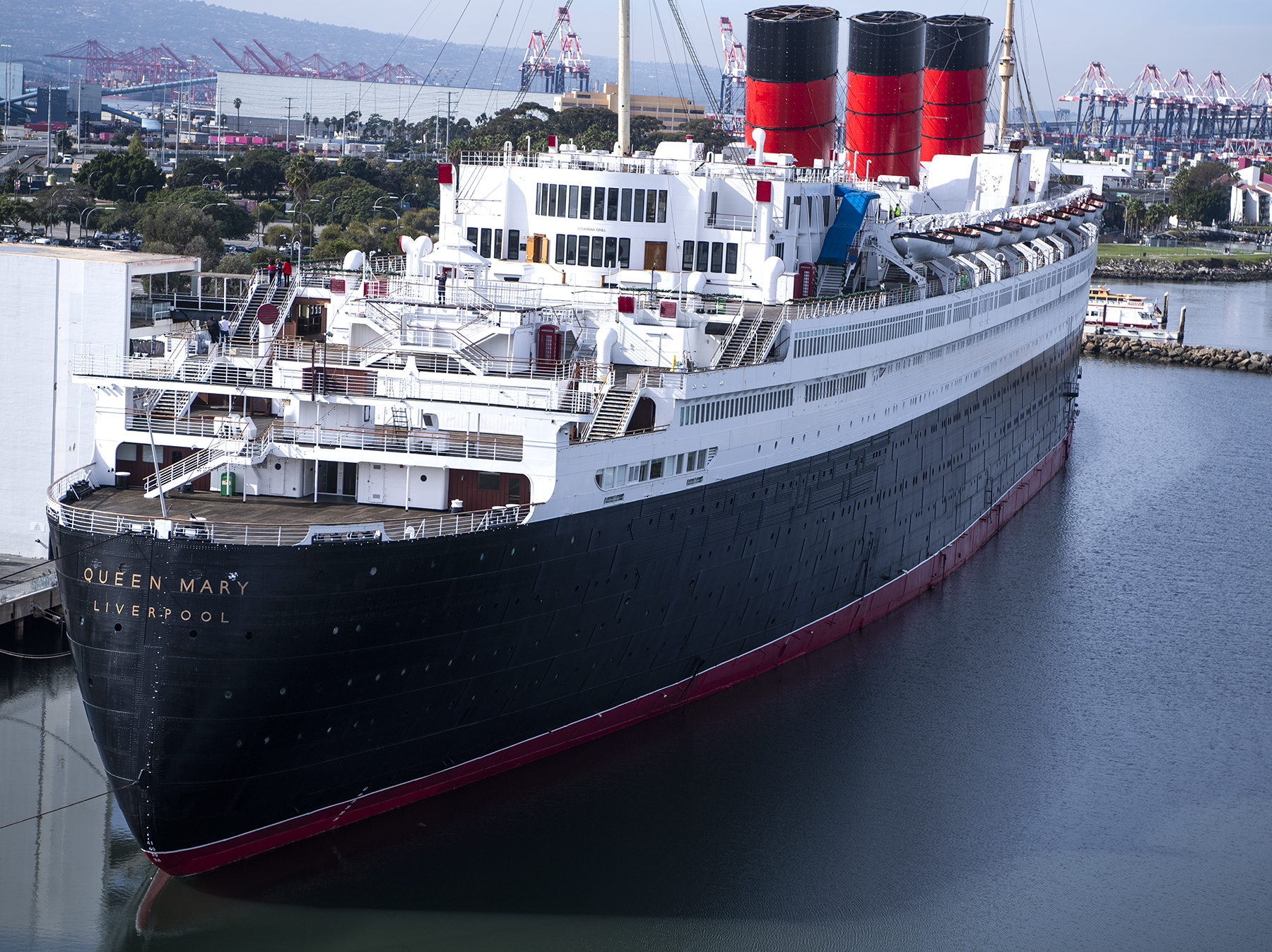 Queen Mary's future in limbo as operator's bankruptcy hearings are underway