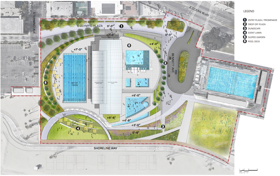 Belmont Pool Gets Preliminary Roval