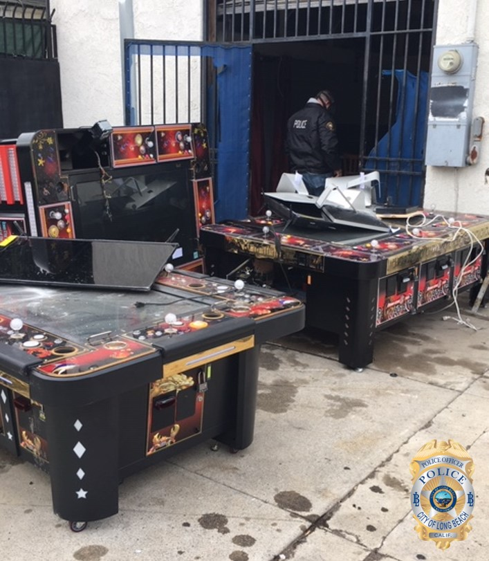 Police Detain 64 Arrest 11 In Raid On Suspected Illegal Gambling Business In North Long Beach Long Beach Post News