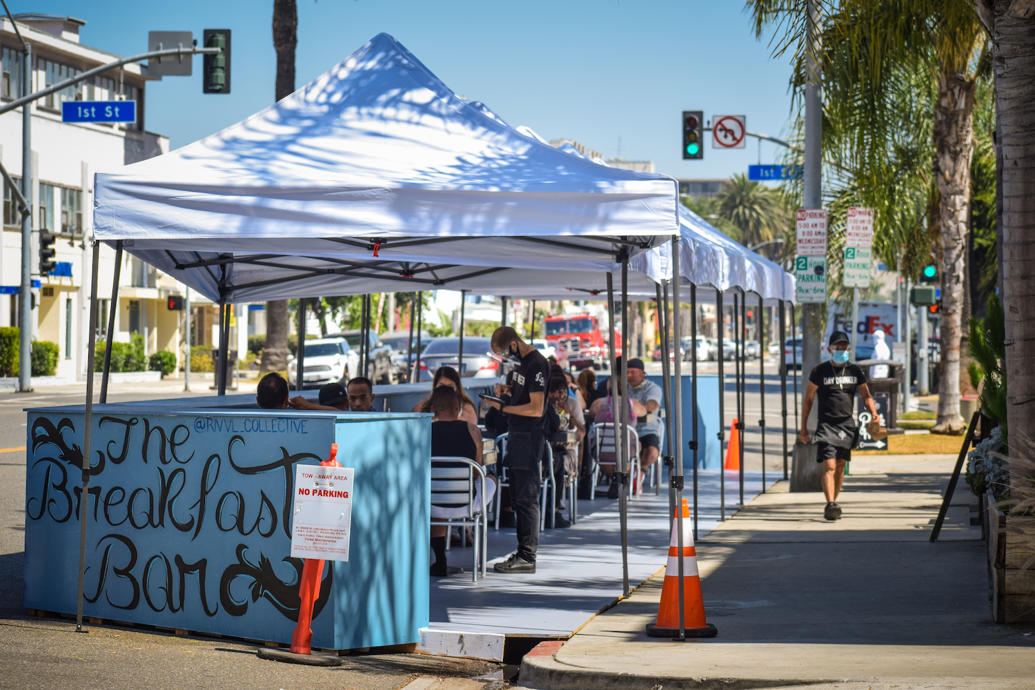 Long Beach Offers Grants To Help Restaurants That Opened Outdoor Dining Long Beach Post News