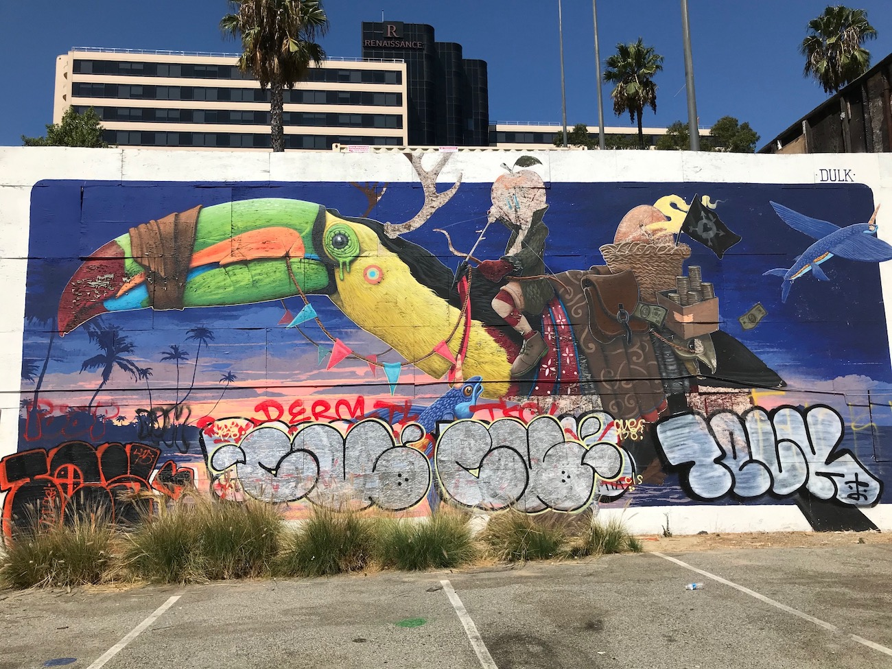 Popular POW! WOW! mural painted over due to vandalism