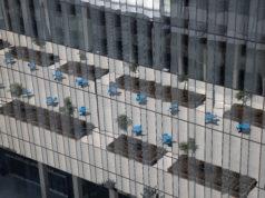 Civic Center Plaza Reflection