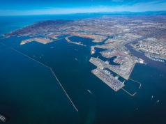 San Pedro Bay Ports Aerial