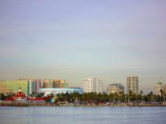 Downtown Long Beach shoreline